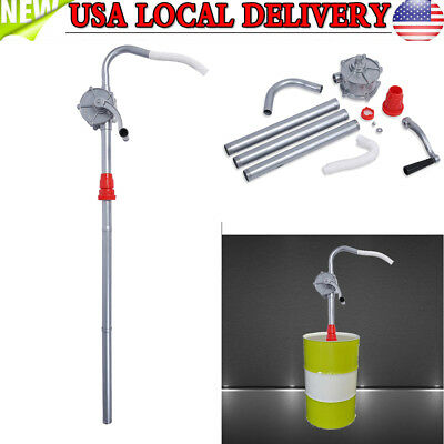Self Priming Hand Crank Rotary Pump Suctin Oil Fuel Transfer Drum Barrel Quality