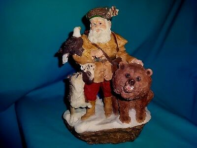 1996 United Design The Legend of Santa Claus High Country Figure by Larry Miller