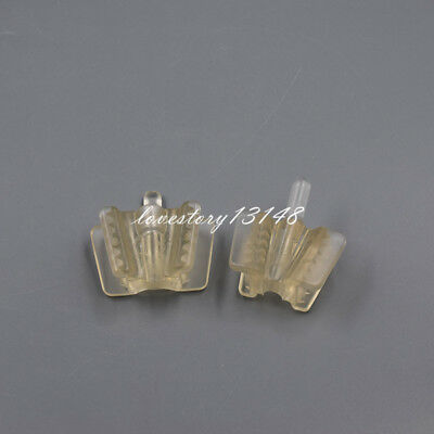 50 Pcs Dental Silicone Mouth Prop Support Holding Saliva Ejector Suction Tip S/L