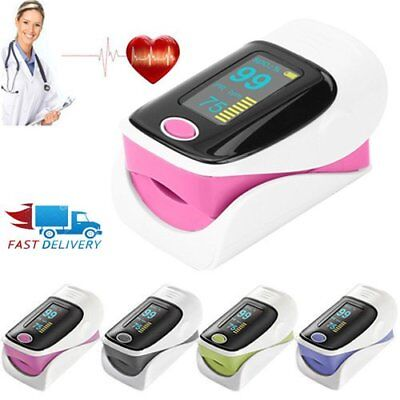 Finger Tip Pulse Oximeter OLED Display Blood Oxygen Saturation Monitor UK