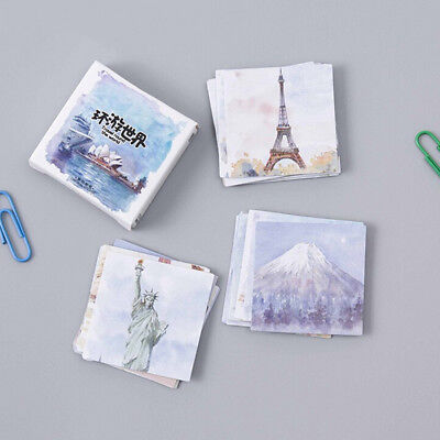 45Pcs Stickers Diary Sticker Scrapbook Decoration PVC Stationery Stickers^