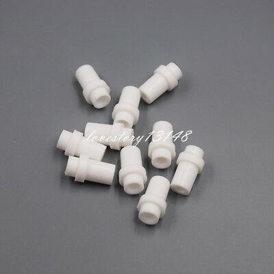 10 Pcs Dental Suction Tube Convertor Saliva Ejector Adaptor Autoclavable