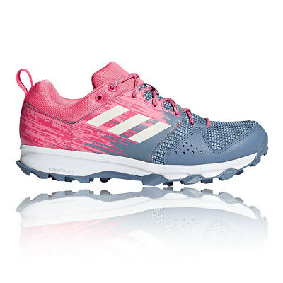 adidas Womens Galaxy Trail Shoes Grey Pink Sports Running Breathable Lightweight