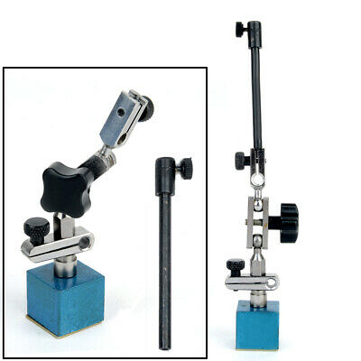 Blue Height Magnetic Base Stand For Digital Dial Test Indicator Flexible Holder
