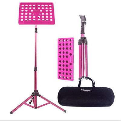 Sheet Music Stand Holder Tripod Base Foldable Bookplate Max Weight Capacity 5kg