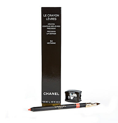 Chanel Le Crayon Levres Peach Orange Lip Liner Pencil 94 Nectarine