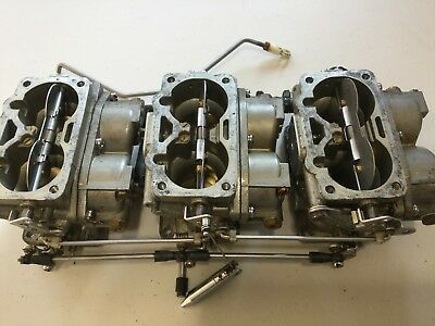1989 Yamaha 200Hp Carburetor 6R4-14301-01-00 6R4-14302-01-00 6R4-14303-01-00