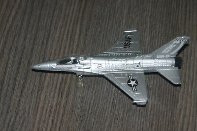 ERTL Force One Die Cast F-16 Falcon Fighter USA F plane
