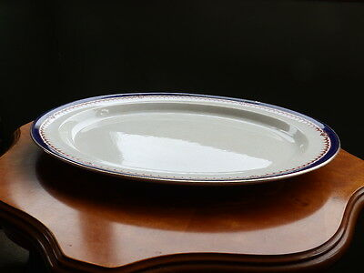 Booths Silicon China Simplex large oval meat platter