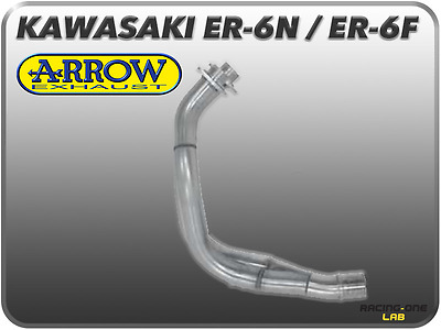 Manifold Racing Arrow Stainless Steel For Kawasaki Er-6N Er6-F Versys 650