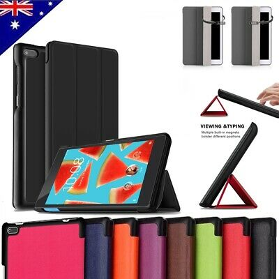 Smart Magnetic Stand PU Leather Case Cover for Lenovo Tab 7 Essential TB-7304F