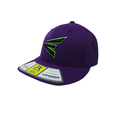 Easton Hat by Richardson (PTS30) All Purple/Neon Green/Black SM/MD