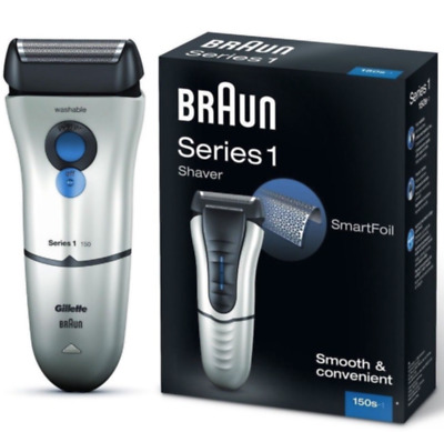 Braun Series 1 150s  Electric Rechargeable Men Male Foil Shaver Razor New