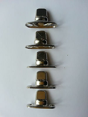 Boat canopy fittings Turnbuttons eyelets and washers x5