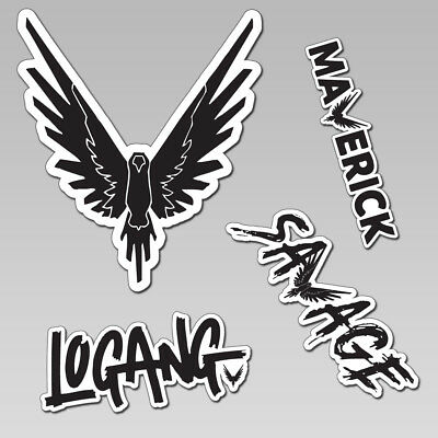 Logan Paul Jake Logang Maverick Savage Team 10 Youtuber STICKER DECAL hoodie top