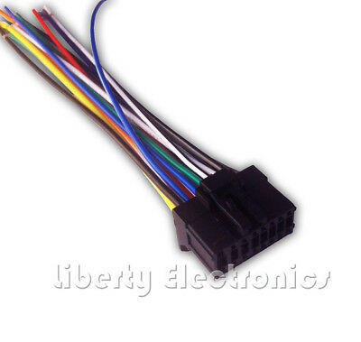 New 16 Pin AUTO STEREO WIRE HARNESS PLUG for PIONEER AVH-P1400DVD Player
