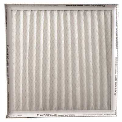 "Flanders Merv 6 Pinch Pleated Air Filter, 16X25X1"" Case Of 12"