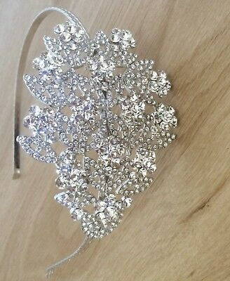 Bridal Headband with Swarovski Crystals by Gemini of London
