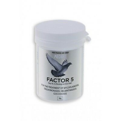 Pigeon Product - Factor 5 - 5 in 1 - by Medpet - Racing Pigeons