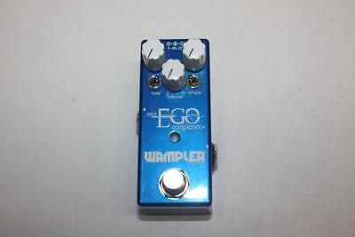 Wampler Mini Ego Blue Compressor Guitar Effects Pedal P-04645 -FULLY TESTED-