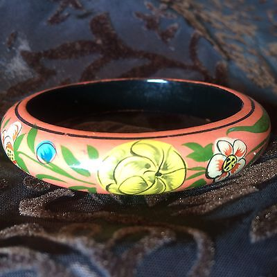 Boho Folk Bangle Bracelet Hippy Festival Gypsy Psy Pixie Vintage 60s 70s Ethnic