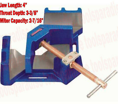 Metal Working CORNER 90 Degree ANGLE Welding MITER Clamp Copper Plated Spindle