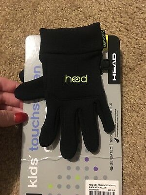 Head Kids Gloves, Size Small (4-6) Sensatec Touchscreen Texting Gloves
