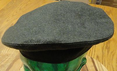 Vintage Us Military Cover, Service, Cap, Wool Kersey Green Size 7 Very Good Cond