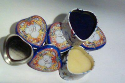 Brighton Small Heart Shaped Boxes Ring/Trinket Size With Inserts Lot Of 4