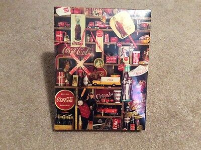 "New & Sealed Springbok ""coke Is It"" 500 Piece 1986 Jigsaw Puzzle-18 X 23"