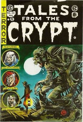 Tales From The Crypt +All EC Horror Digital Comic Books COMPLETE SERIES DVD-Rom