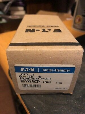 Nib Oem Cutler Hammer Eaton Size 3 Contact Kit 6-43-6