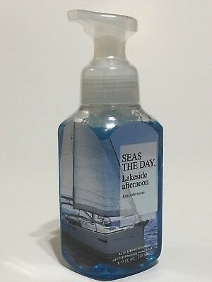 New 1 Bath & Body Works Lakeside Afternoon Seas The Day Gentle Foaming Hand Soap