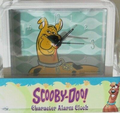 Scooby-Doo Alarm Clock Character Carton Network Battery Operated Lighted Dial!