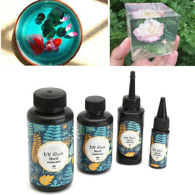 60/100/200g DIY UV Ultraviolet Resin Curing Solar Cure Sunlight Activated Hard