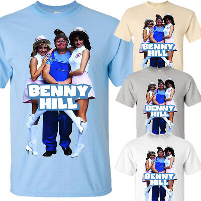 Movie T shirt all sizes S-5XL Alfred Hawthorn Benny Hill Ver 5