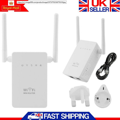 300Mbps Wireless-N Repeater Router Range  WiFi Network Signal Booster lot HOp