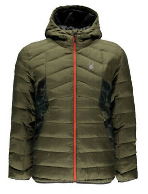 Spyder Geared Hoody Synthetic Down Jacket Herren Daunen Jacke Skijacke