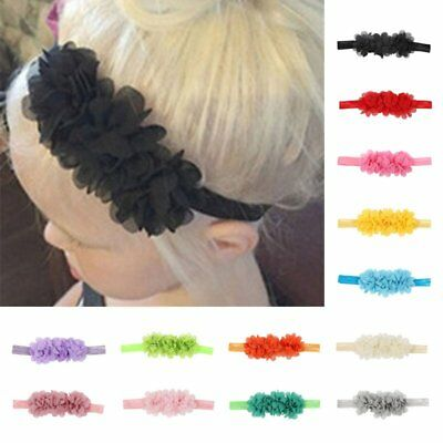 Baby Girl Kids Toddler Solid Headband Hair Band Accessories Headwear For Infant