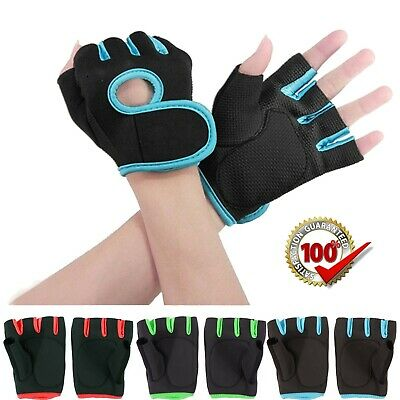 Best Weight Lifting Gloves Gym Fitness Bodybuilding Workout Training Wrist Strap
