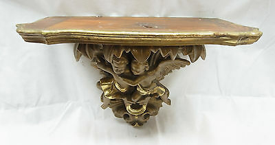 Console Table/Wall Console / Angel/Putti/Around 1800