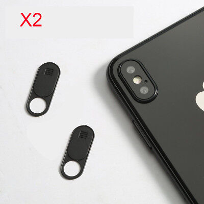 2x Webcam Cover - Original Camera Sticker For Mobile, Laptop and Tablet Devices!