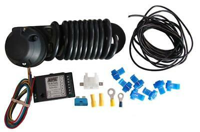 12N Towbar Towing Wiring Kit With 7 Way Bypass Relay Socket Connectors Mp3837