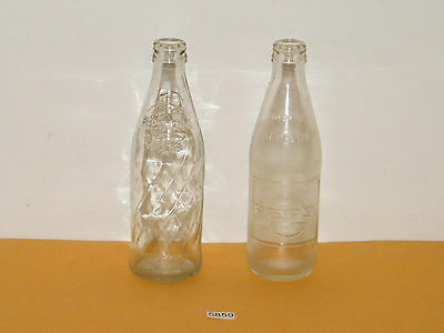 Vintage Pepsi Cola 10 Oz No Deposit No Return Glass Bottle 1 Swirl 1 Embossed