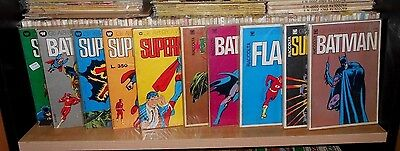 RACCOLTE GLI ALBI DELLA WILLIAMS - BATMAN, SUPERMAN, FLASH, FOBOS. anno 1973