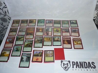 MtG Magic the Gathering Gruul Land Destruction Deck