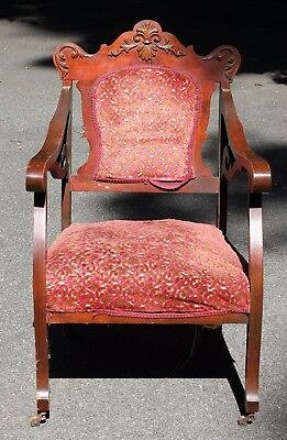 Wooden Victorian Arm Chair