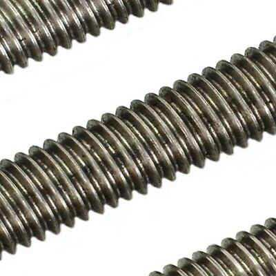 M14 A2 Stainless Threaded Bar - 14mm Rod Studding Allthread Stud