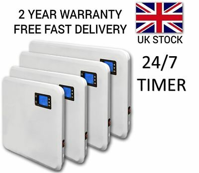 Electric Heater Radiator Thermostat 24/7 Timer Wall Mounted Timer 400W - 2000W