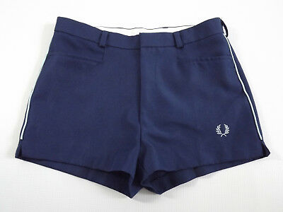 Vintage Mens Fred Perry Retro Preppy Shorts Tennis Sports Casual College 70s 80s